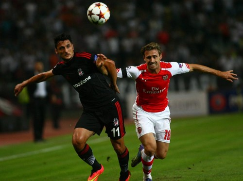 03 - BJK - Arsenal 19.08.2014 -2