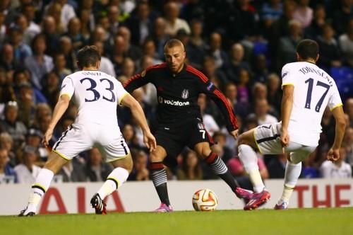 11 - BJK - Tottenham - 02.10.2014 - 1